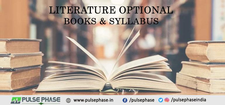 Literature Optional Books & Syllabus