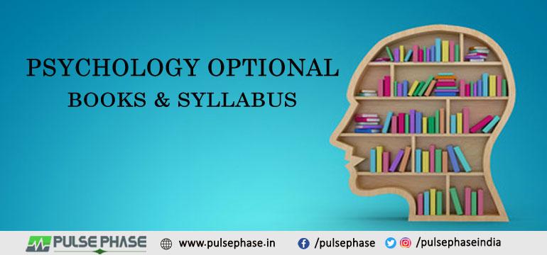 Psychology Optional Books & Syllabus
