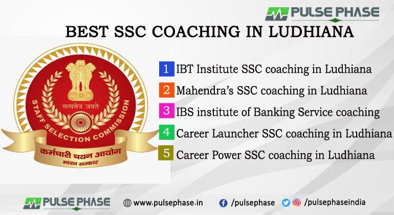 IBT Institute SSC coaching in Ludhiana Mahendra's SSC coaching in Ludhiana IBS institute of Banking Service coaching Career Launcher SSC coaching in Ludhiana Career Power SSC coaching in Ludhiana