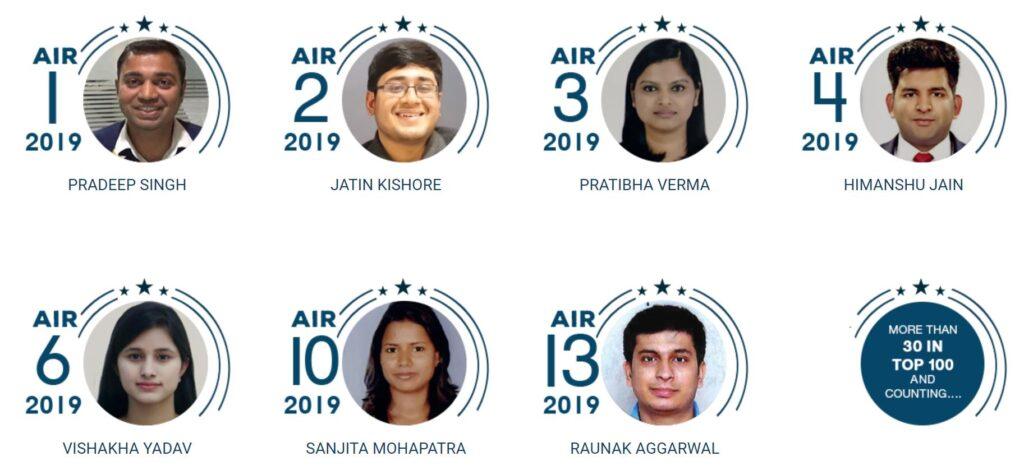 Rau IAS Toppers 2019