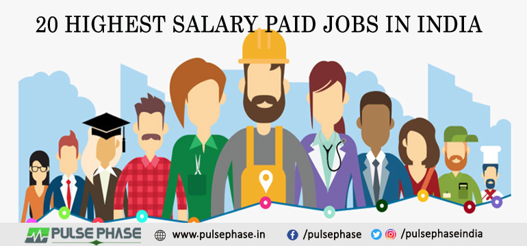 Highest Salary Jobs in India