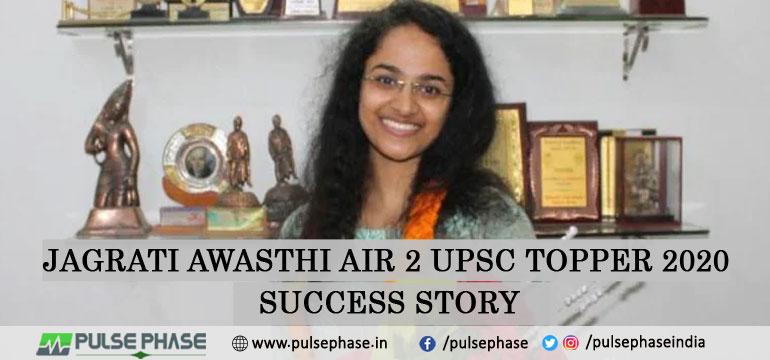 Jagrati Awasthi AIR 2 UPSC Topper 2020