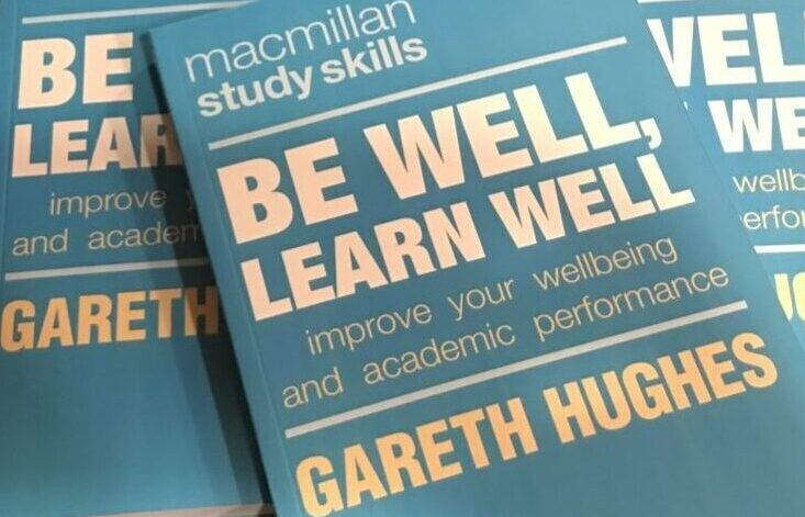 Front cover of Be Well Learn Well book