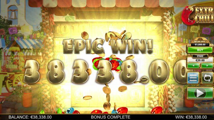 extra chhilli slot big win