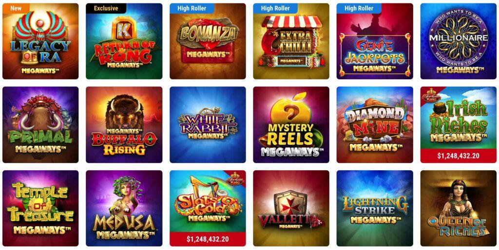 megaways slots games