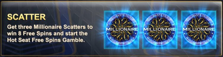 millionaire free spins