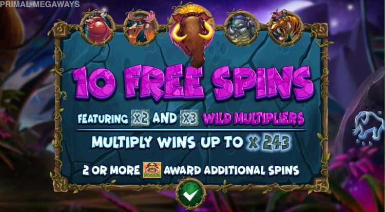 free spins and wild multipliers