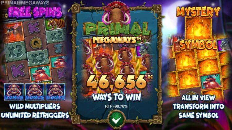 play primal megaways slot