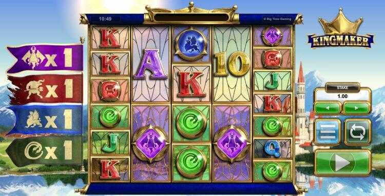 play kingmaker megaways slot