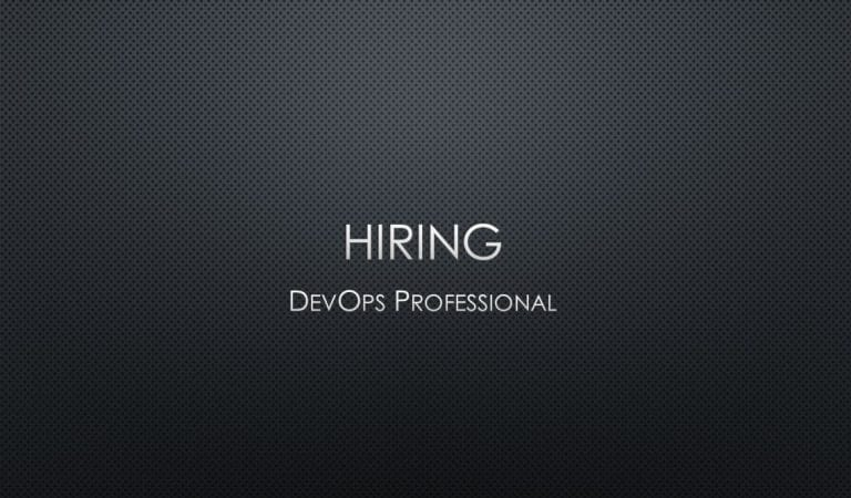 Hiring DevOps Professional – Contract Position