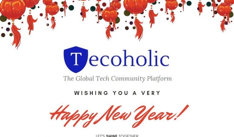Tecoholic wishes you a very Happy New Year!