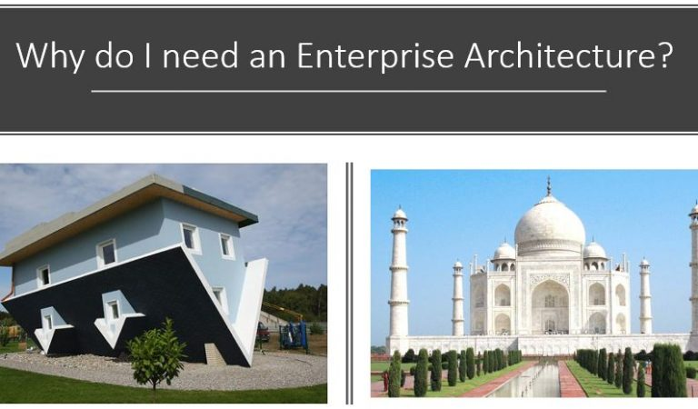 Why do you need an Enterprise Architecture?