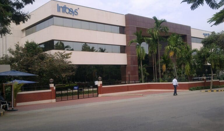 Infosys won a long term contract from ArcelorMittal for a digital transformation