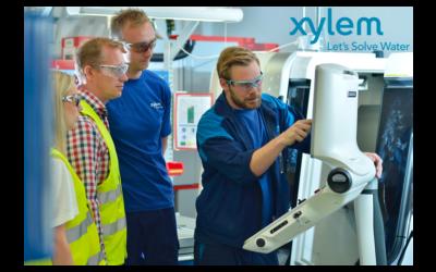 Xylem digitaliserar underhållsverksamheten