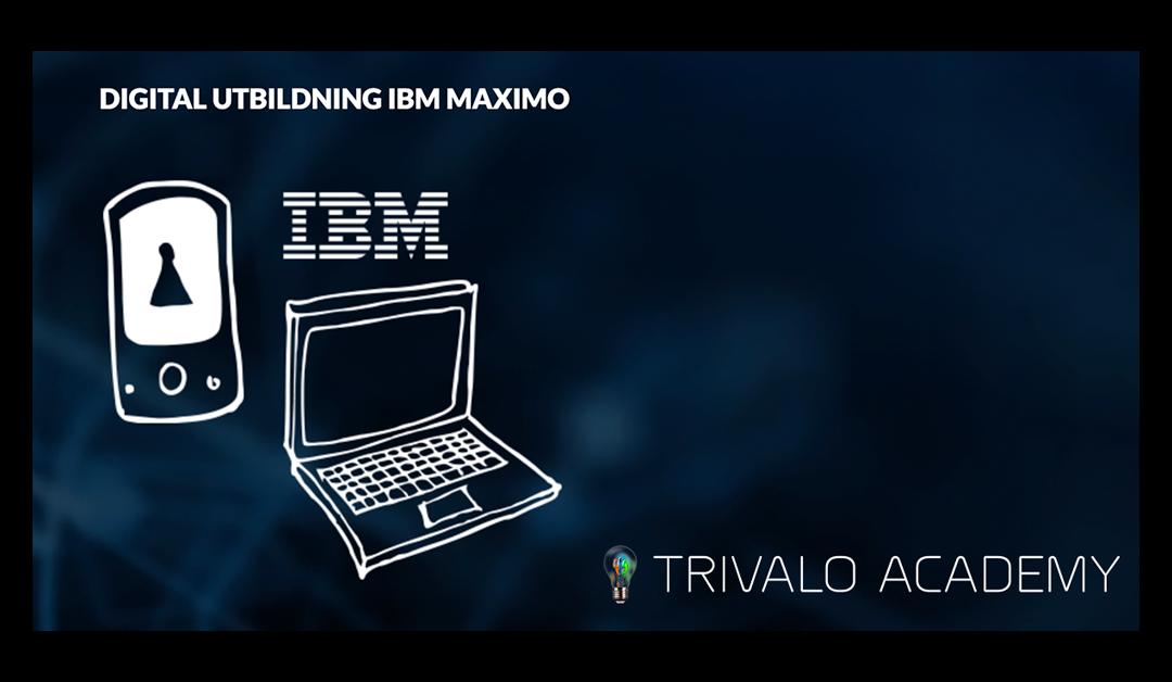 Webinar – Digital utbildning IBM Maximo