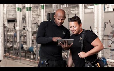 Coor effektiviserar den mobila arbetsorderhanteringen