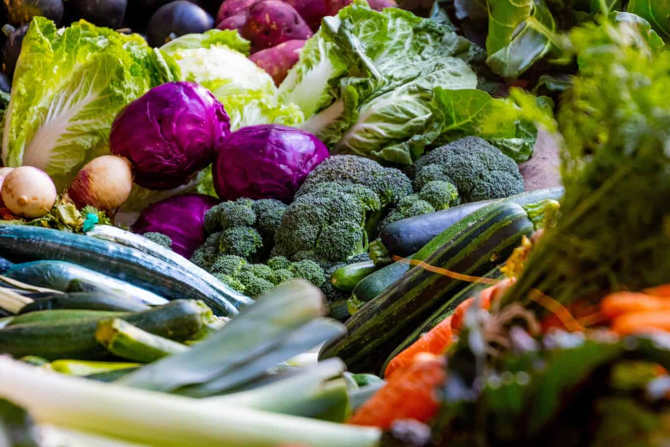 verduras saludables