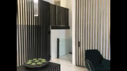 Bespoke modern wheelchair lift by lyfthaus