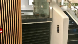 Modern glass DDA Lift