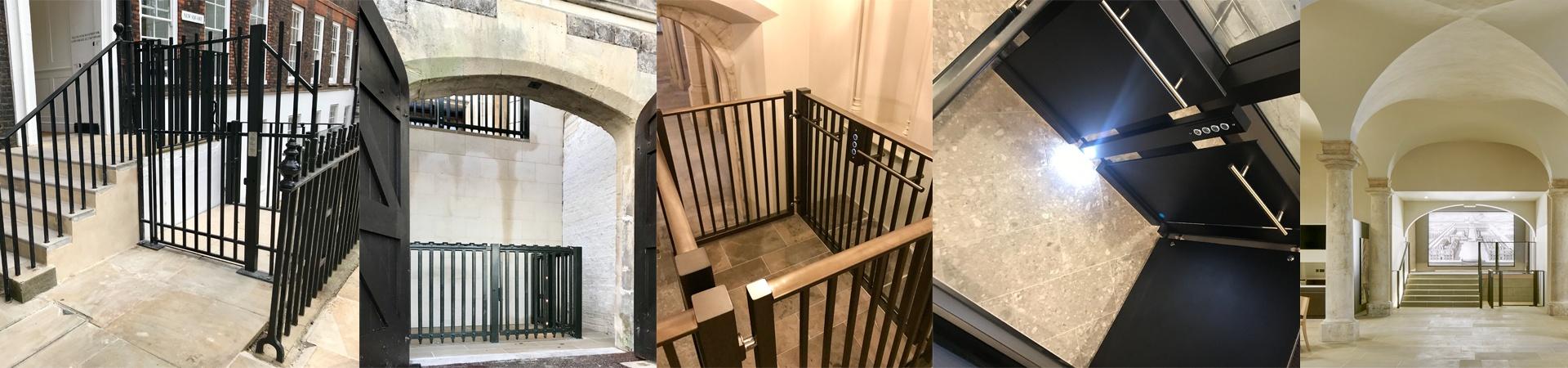 Custom Disabled access lift