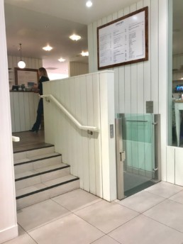 Stylish Modern Disabled Access Wheelchair Lift