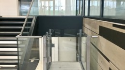 Glass Wheelchair Lifts in London