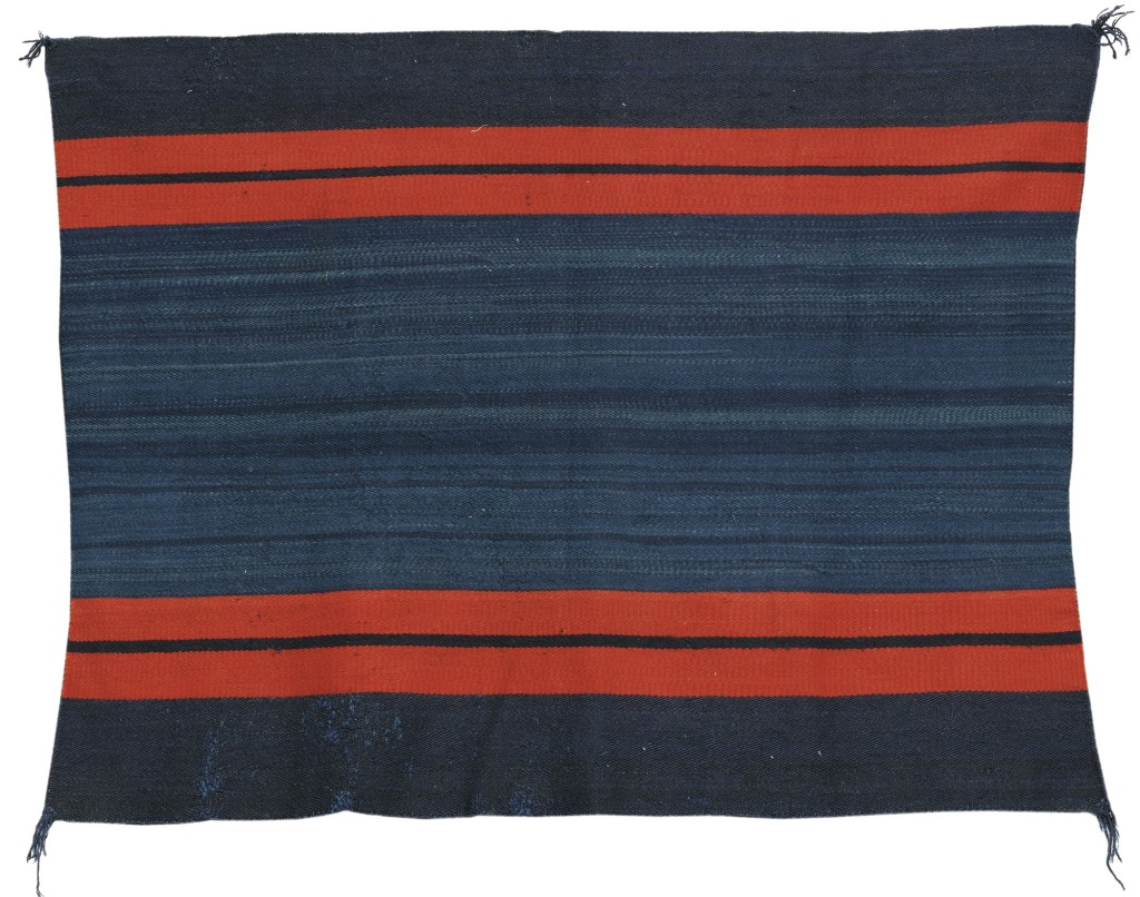Navajo late Classic Woman's Manta,  Estimate: $ 25,000 - 45,000