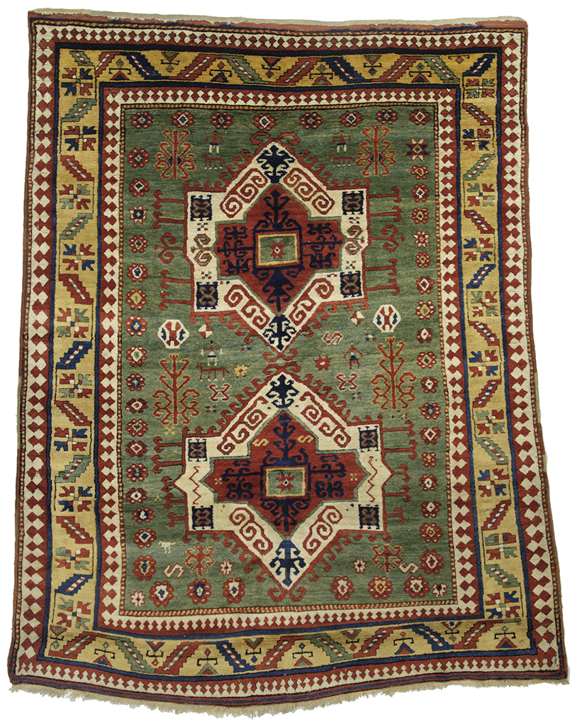 Fachralo Kazak, southwest Caucasus, first half 19th century, 1.72 x 2.10m. Zaleski Collection