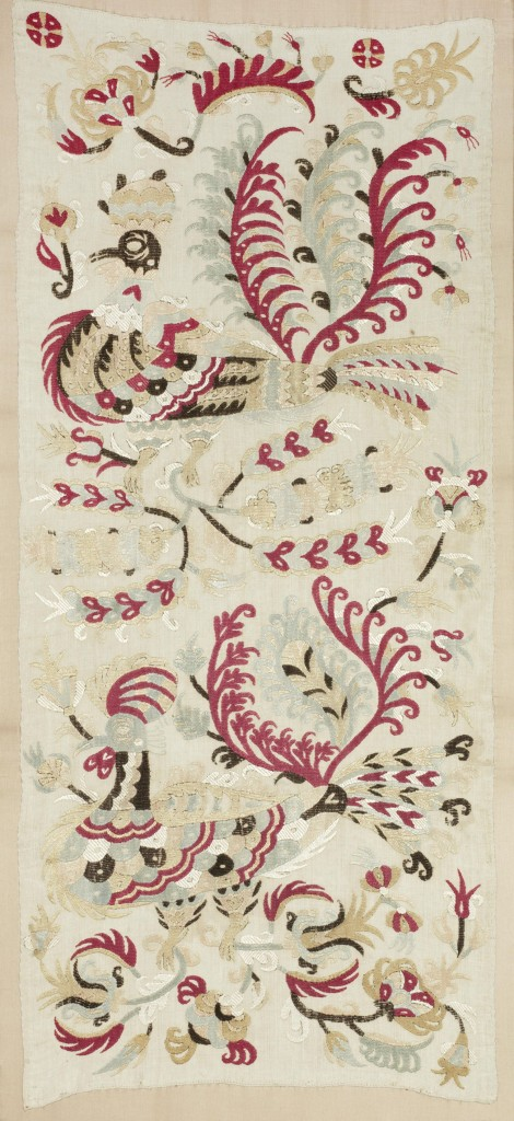 Skyros embroidered cushion cover, Greek islands, 18th century