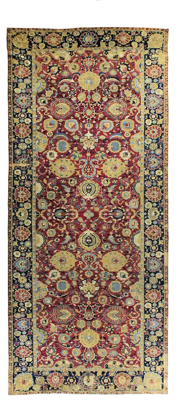 The Marquand red-ground Esfahan carpet William A. Clark