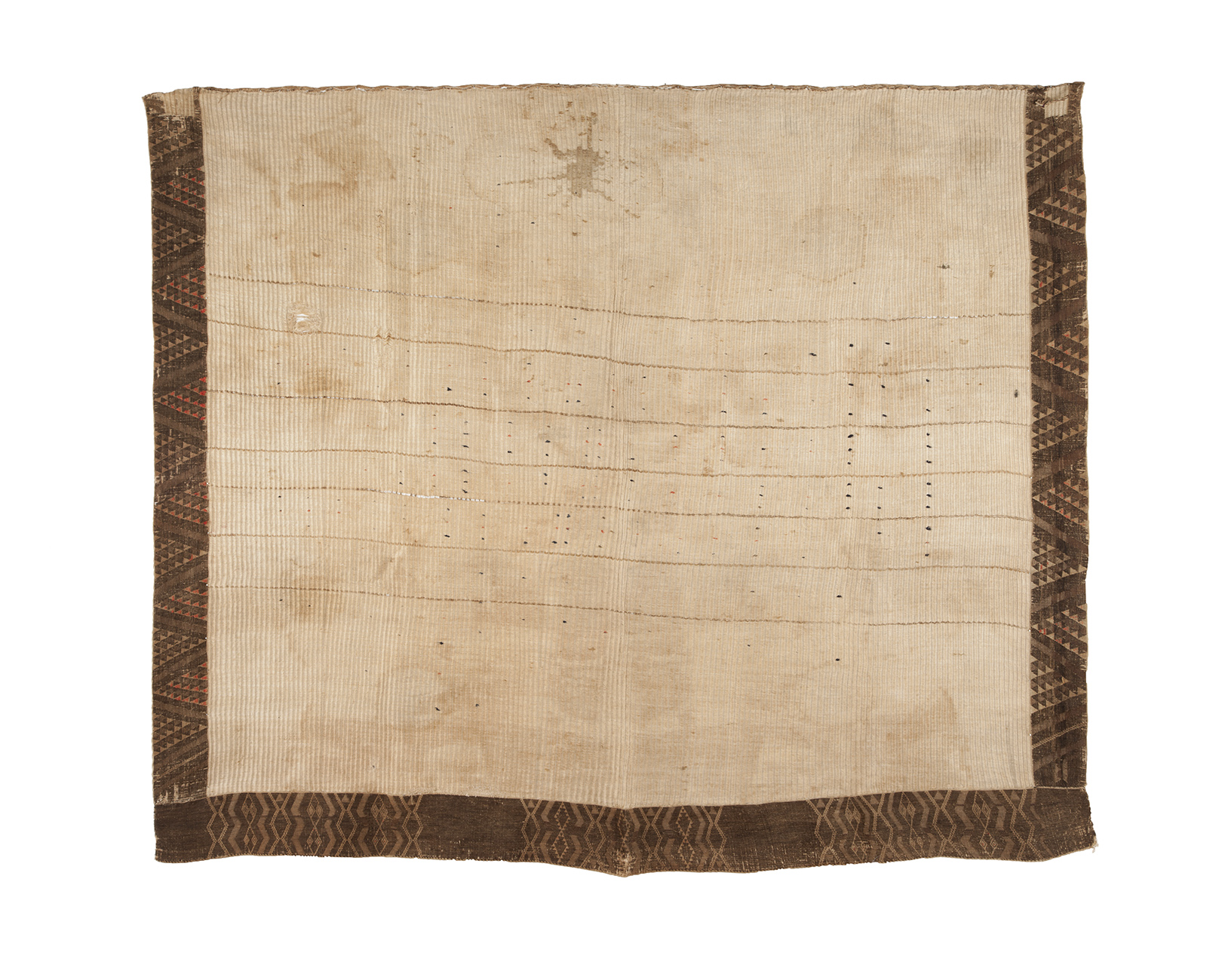 Early kaitaka paepaeroa cloak, New Zealand.