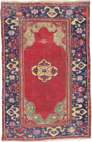 Small-medallion Ushak rug, West Anatolia, late 16th century