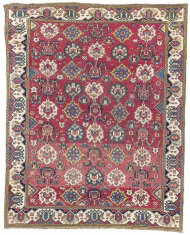 The Burns east Caucasian palmette carpet, 18th century.