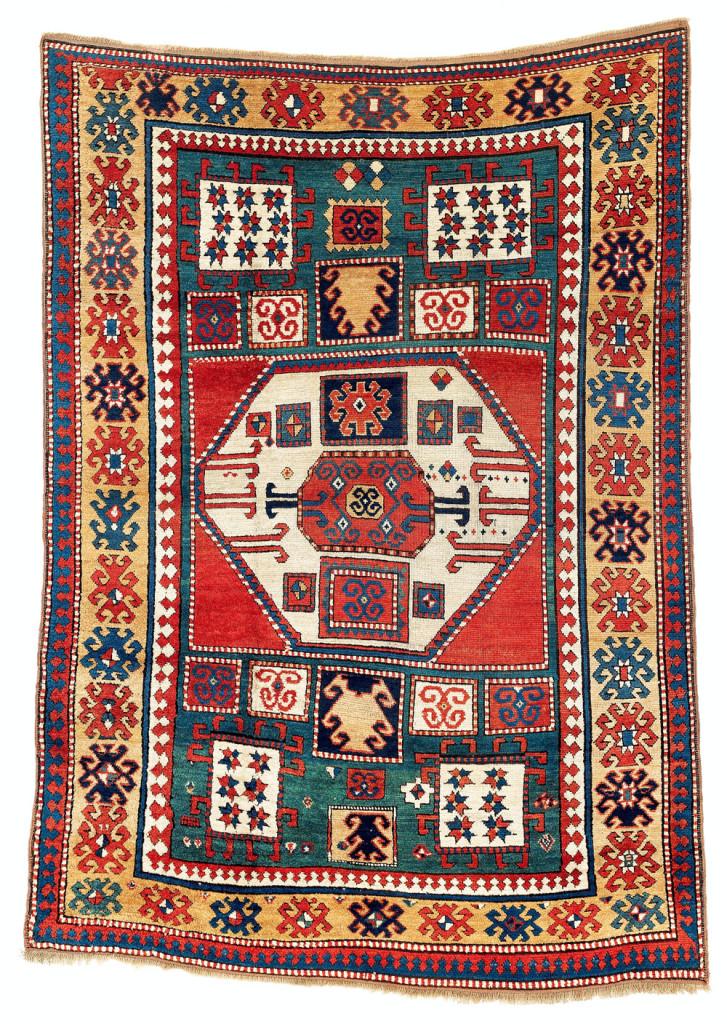 Lot 180. Karachov Kazak rug. Sold for €23,180