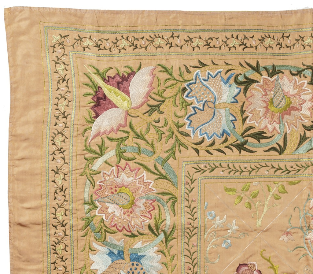 Morris Bedspread, detail