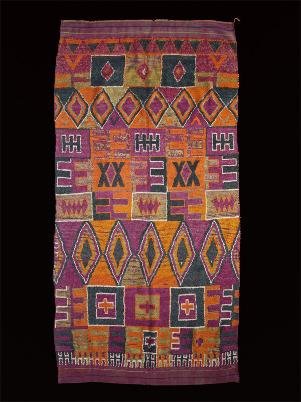 Ait Bou Ichaouen pile carpet, Western Morocco, circa 1930 tribe 150 x . Luca Sguaitzer/Non Plus Ultra, Mantua