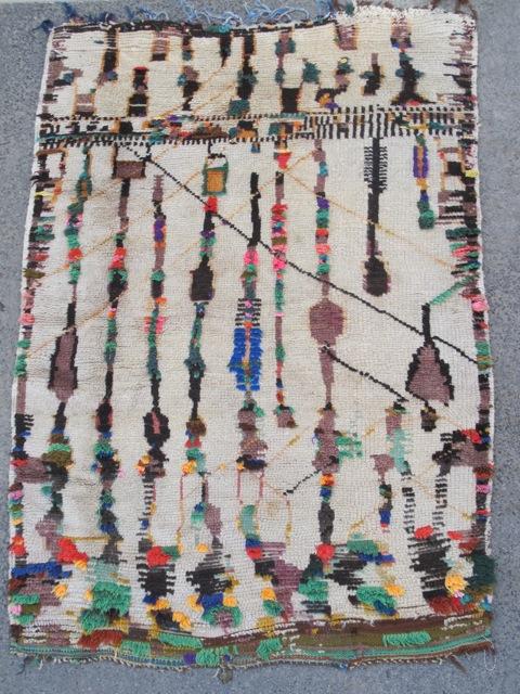 Azilal pile carpet , central High Atlas, Morocco, ca. 1940. 155 x 115cm. Safran, Vienna