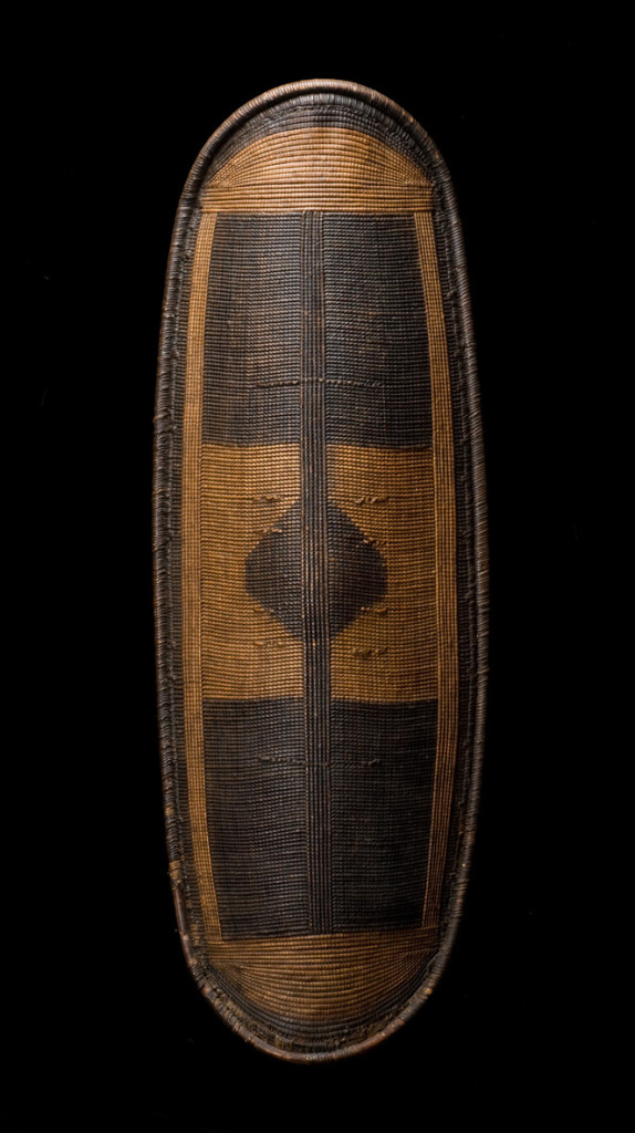 Warrior's Shield, Wola, Mbugbu, Central African Republic, 19th/very early 20th Century