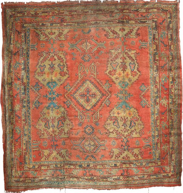 Ushak carpet, west Anatolia, 19th century. Gallery Yacou, London
