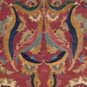 The Lafões Esfahan carpet (detail), central Persia, second half 17th century. 44ft. 3in. x 14ft. 2in. (13.49 x 4.32m.). Sotheby's New York, 5th June, lot 19, estimate, $800,000 - 1,200,000, sold $4,645,000 USD .jpg.thumb.385.385
