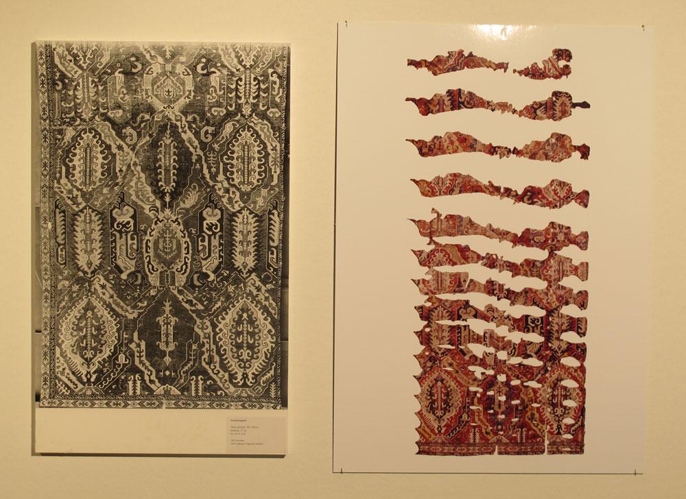 Inv. Nr. KGM  81,1018. Dragon carpet (572 x 268 cm), Caucasus, about 1600. Acquired 1881.