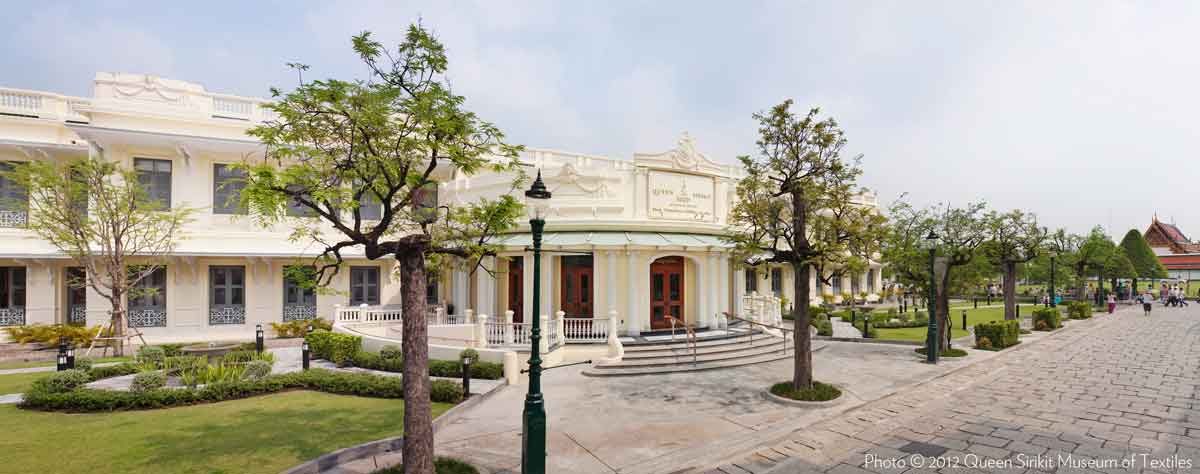 Queen Sirikit Museum of Textiles in Bangkok