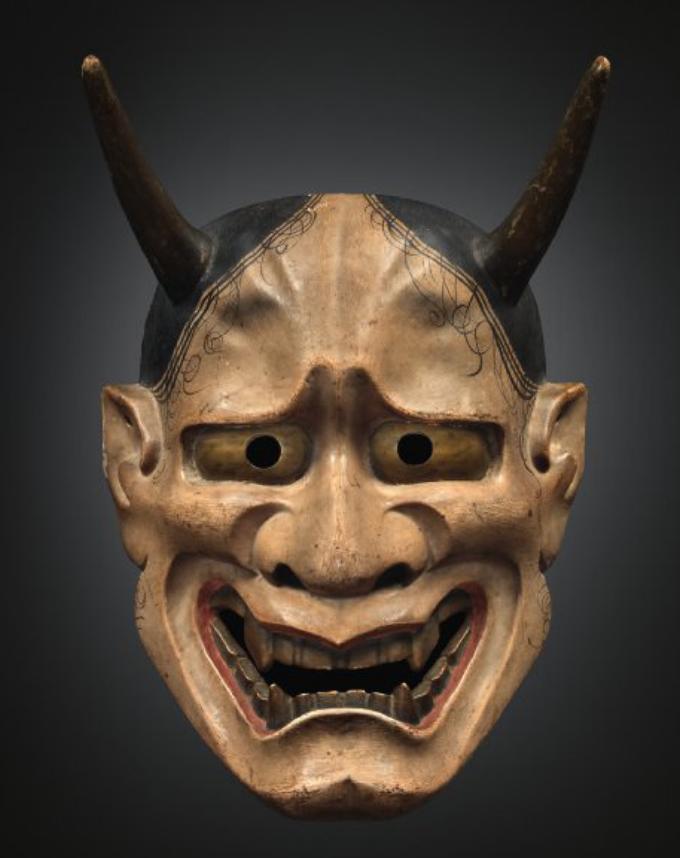 Noh mask, 16-17th century