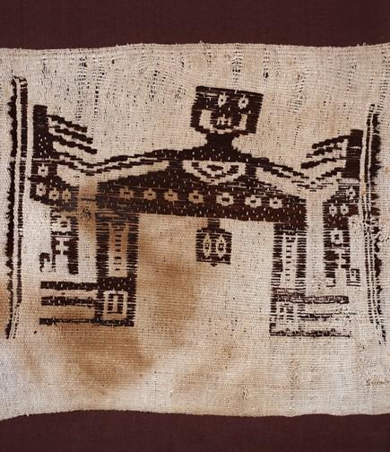 Pre-Columbian textile, 1000-1200 AD, Cotton & Alpaca