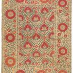 Bukhara suzani, Uzbekistan, 19th century 227 x 170 cm. Romain Zaleski collection