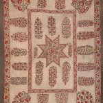 Nurata suzani, Uzbekistan, 19th century. 233 x 170 cm. Romain Zaleski collection