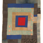 Susana Allen Hunter (1912–2005), Pig Pen Quilt, 1950–1955. Cotton and denim The Henry Ford, 2006.79.25 From the Collections of The Henry Ford, Dearborn, Michigan Improvisation in the Deep South: Quilts exhibition in Michigan