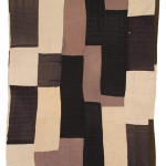 Susana Allen Hunter (1912–2005), Strip Quilt, 1945–1955. Cotton, corduroy, wool, rayon, and tweed. The Henry Ford, 2006.79.6 From the Collections of The Henry Ford, Dearborn, Michigan