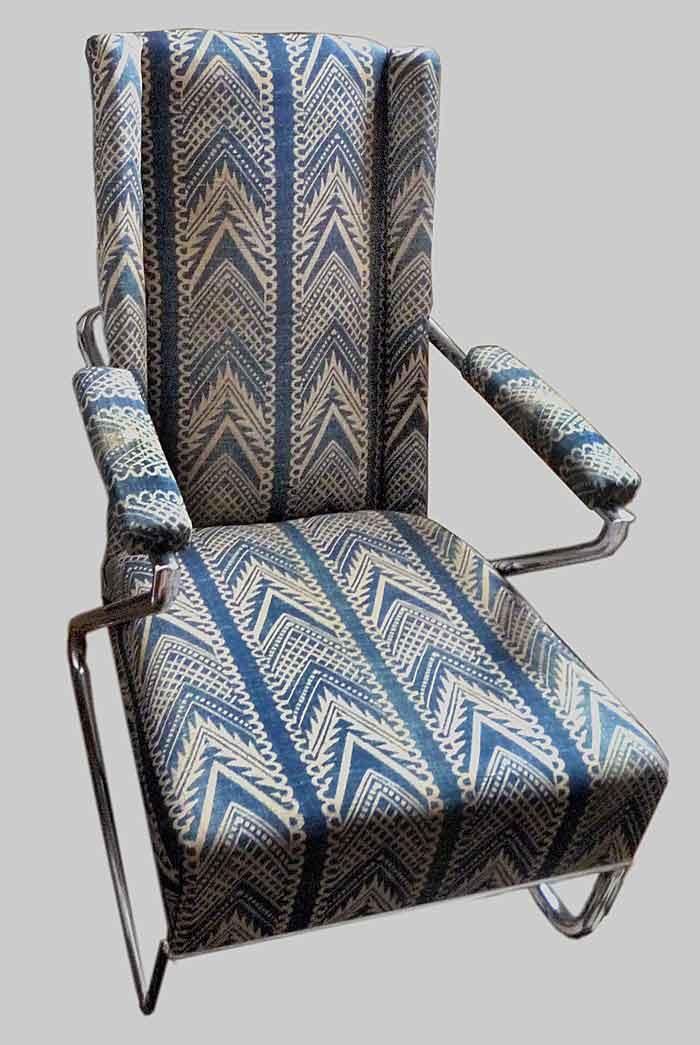 Barron & Larcher upholstery modern chair