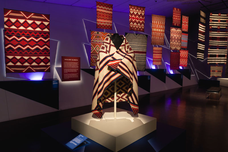 Red,White &Bold: Masterworks of Navajo Design, 1840-1870. Curated by Nancy Blomberg and John Lukavic